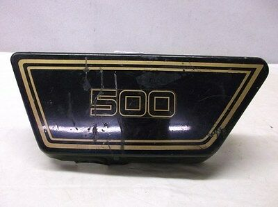 USED LEFT SIDE COVER FOR 1976 <em>YAMAHA</em> XS500 TWIN