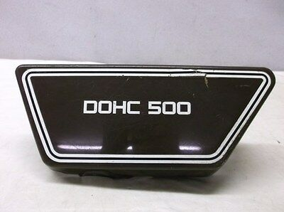 USED LEFT SIDE COVER FOR THE 1976 <em>YAMAHA</em> XS500 DOHC