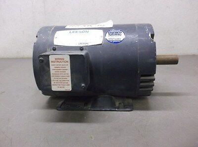 Used Leeson Electric Motor Model C145t34db2b