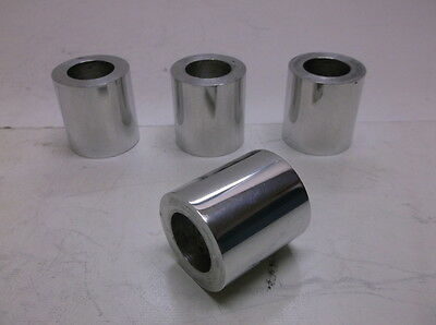 "40 Big Dog #BD21421 Polished Wheel Spacers Adaptable to Choppers w/ 3/4"" Axles"
