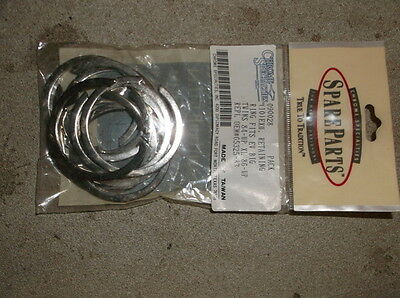 Lot of 100 Harley #65325-83 Exhaust Port Snap Rings for Most 1986 & Newer Harley