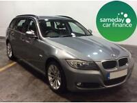 £213.64 PER MONTH GREY 2011 BMW 318D 2.0 SE TOURING ESTATE DIESEL MANUAL.