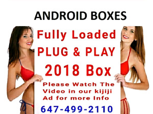 Android Boxes Fully Loaded Live Channels  ( NO MONTHLY FEE )