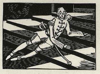 CVJ SOLDATESKA und GOTTESDIENER - Sylvain SAUVAGE 1925 - 3 Originalholzschnitte