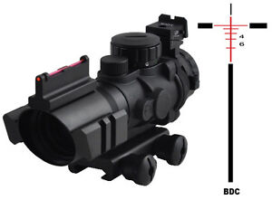 sniper-tactical-scope-PM4X32CB-with-fiber-optics-sight-and-Etched-glass-reticle