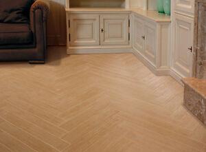 Piastrelle per pavimento listone effetto legno rovere - Parquet su piastrelle ...