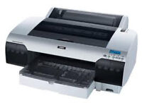 Epson 4880 Pro wide photo printer w $1000 ink, extra cutter, etc