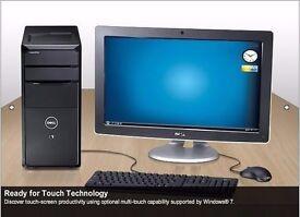 Dell Desktop i7 Quad Core Intel 2.8Ghz FULL PC