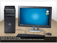 BOXED MINT CONDITION DELL INTEL CORE i7 2.8Ghz 450GB HARD DRIVE 512MB GRAPHICS CARD DV D