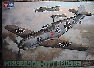 1/48 Messerschmitt Bf.109 E-3 By Tamiya