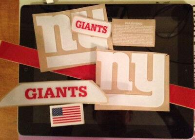 Giants (TB) Football Helmet Side Decals Set RXX](Giants Helmet)