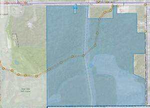 ***** 140 Acres near the airport *****