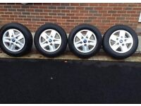 Ford transit alloys wheels limited tourneo