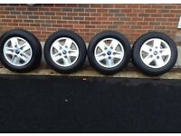 Ford transit alloys wheels limited tourneo 16 inch