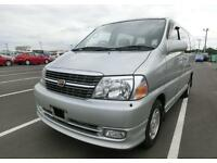 TOYOTA GRANVIA HIACE V6 G 8 SEATER AUTOMATIC CAMPER DAY VAN *ONLY 34000 MILES