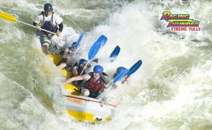 Raging Thunder Adventures Xtreme White Water Rafting Cairns