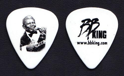 B.B. King Photo White Guitar Pick #2 - 2008 Tour