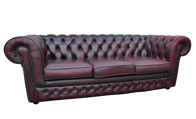 Chesterfield sofa stoff  Top 3 Chesterfield Sofas | eBay