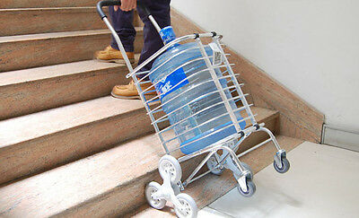 Urban Stair Climbing Cart 8 Wheels Folding Shopping Handcart Rolling Utility
