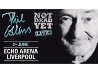 PHIL COLLINS - LIVE NOT DEAD YET - Liverpool Echo Arena 2nd June 2017