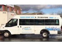 16 Seater Minibus Hire With A Driver West Midlands - Airport Transfers - Day Trips - Nights Out