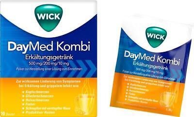 WICK DayMed Kombi Erkältungsgetränk 10 St PZN: 7191196