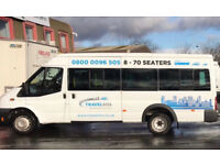 Cheap 16 Seater Minibus Hire With A Driver Birmingham - Airport Transfers - Day Trips - Race Days