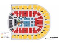 Justin Bieber Tickets x6 GREAT PLATINUM SEATS Blk 112 row F Sat 15th Oct o2 Arena London £400 each