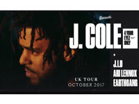 **NOT A SCAM** Two J Cole Tickets O2