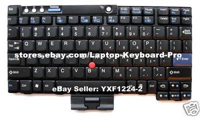 Keyboard for IBM Lenovo Thinkpad X60 X60S X61 X61S - US English for sale  Ottawa