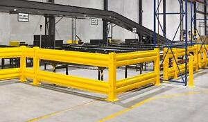 HD WAREHOUSE GUARDRAIL - PROTECT EMPLOYEES AND MACHINERY