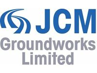 Experienced Groundworks Supervisor, Digging Gangs & Machine Drivers wanted