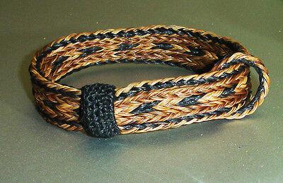 Western Cowboy/Cowgirl Jewelry HANDMADE Woven Horsehair Bracelet