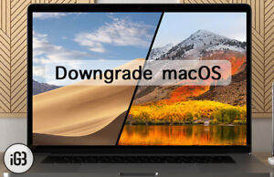 MAC OS X from 10.4 to 1O.14 installation