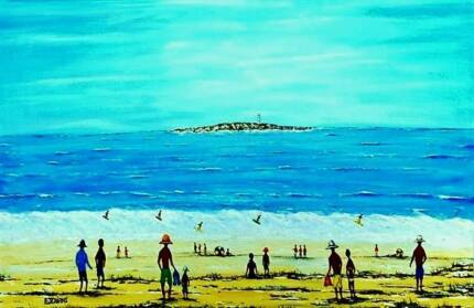"""Surf Beach Western Australia""  Comes with COA"