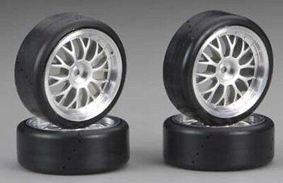 Traxxas 4873 Protrax 12mm Slick Mounted Tires/wheels (4) 1/10 Car NTC3 4-TEC