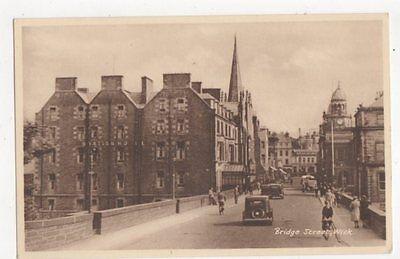 Bridge Street Wick Vintage Postcard  235a