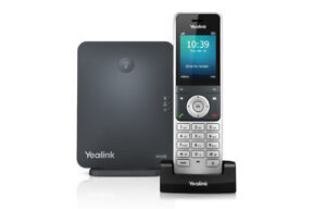Yealink Sip-W60p Dect Ip Phone Base And Handset Package