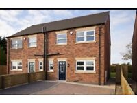 Quality built 3 bed semi detached house. quiet area of Ashby next to family park