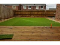Garden services & landscaping Paving driveways fencing turfing flagging artificial grass decking