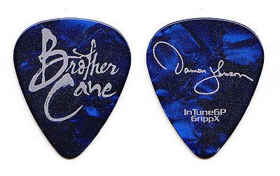 Brother Cane Damon Johnson Signature Blue Pearl Guitar Pick - 2012 Tour
