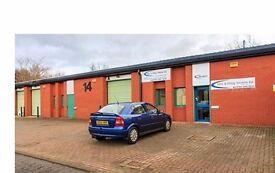 Light industrial units, workshops and storage units for rent in Hebburn