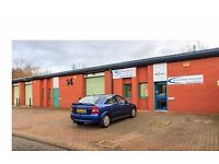 Light industrial units, workshops and storage units for rent in Hebburn