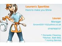 Domestic cleaning From £11 a hour