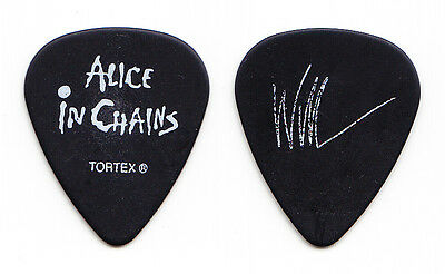 Alice in Chains William DuVall Signature Black Guitar Pick - 2006 Tour