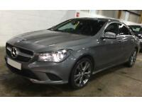 MERCEDES-BENZ CLA MOUNTAIN GREY 180 1.6 SPORT COUPE PETROL FROM £77 PER WEEK!