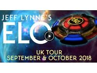 JEFF LYNNE'S ELO SSE ARENA BELFAST Fri 26th OCTOBER 2018 2 X TICKETS