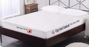 City Pest Control Presents: 100% Waterproof Mattress Protector Bed Bug Pad Cover
