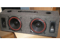 MB820 SUBWOOFER SPEAKER BOX WITH 8 INCH SPEAKERS