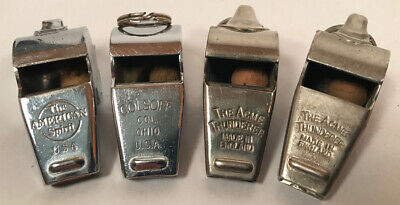 Vintage Whistles, American Spirit, Acme Thunderer,  Colsoff